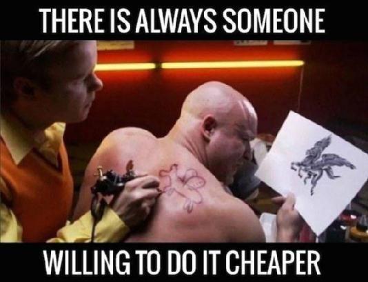 Cheap Tattoo